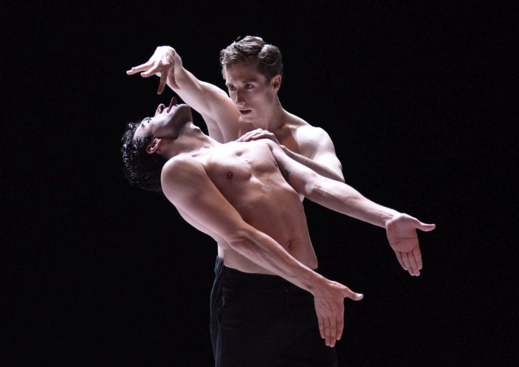 "1. R.Guerra and L.Prunty, ""Nijinski"" by M.Goecke, Gauthier Dance © R.Brocke 2016"