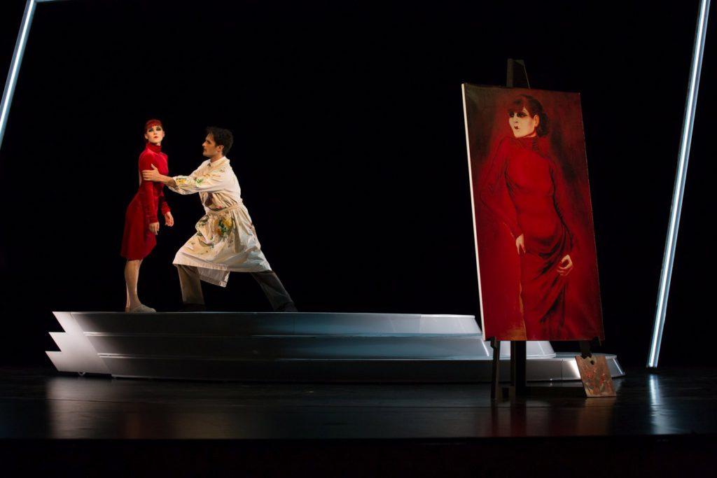 "1. A.Kuzina and P.Jovicic, ""Anita Berber – Goddess of the Night"" by J.Bubeníček, Theater and Philharmonic Orchestra Thuringia © S.Ballone 2016"