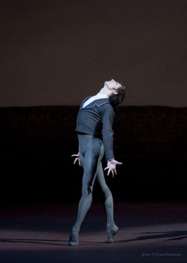 "12. S.Chudin and ensemble, ""Onegin"" by J.Cranko, Bolshoi Ballet © E.Fetisova/Bolshoi Theatre"
