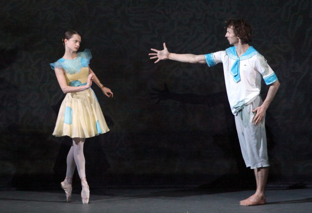 "6. N.Kaptsova and S.Chudin, ""Moidodyr (Wash'em Clean)"" by E.Podgayts, Bolshoi Ballet © D.Yusupov/Bolshoi Theatre"