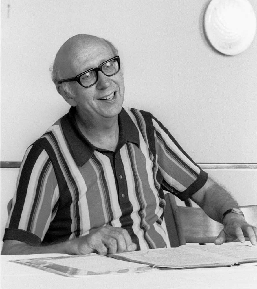 1) Horst Koegler, ca. 1976, photo Gert Weigelt