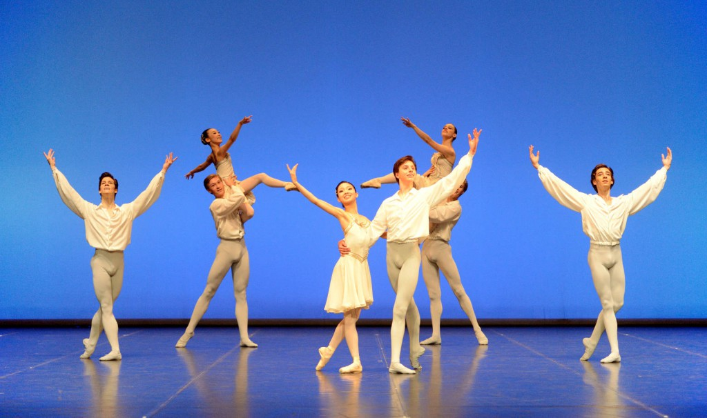 1. Students of the 4th and 6th class, Italiana by Nicola Biasutti, Ballet Matinee of the John Cranko School, Stuttgart 2014