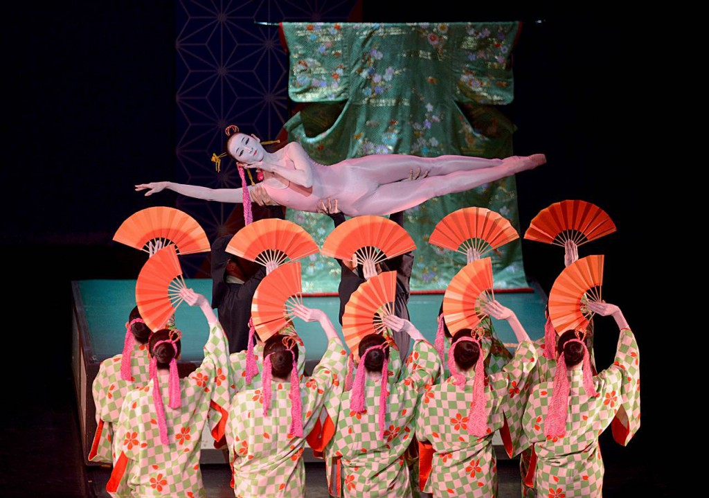 1. Ensemble, The Kabuki by Maurice Béjart, Tokyo Ballet 2014