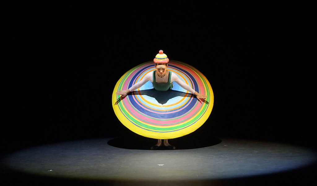 1. The Triadic Ballet by Gerhard Bohner, Big Skirt, Nagisa Hatano, Copyright W. Hösl