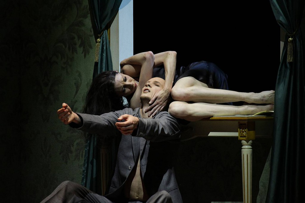10. Hélène Bouchet and Edvin Revazov, Tatiana by J.Neumeier, Hamburg Ballet 2014