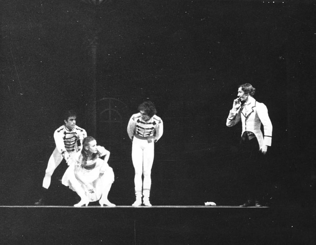 10. Barra, Kruuse, Finney, Midinet, The Nutcracker by J.Neumeier, 1971, 2, Frankfurt Ballet