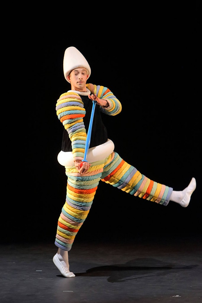10. The Triadic Ballet by Gerhard Bohner, Turk, Sebastian Goffin, copyright W.Hösl