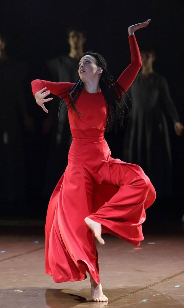 11. Ilana Werner, Le Sacre du printemps by M.Wigman, Bavarian State Ballet