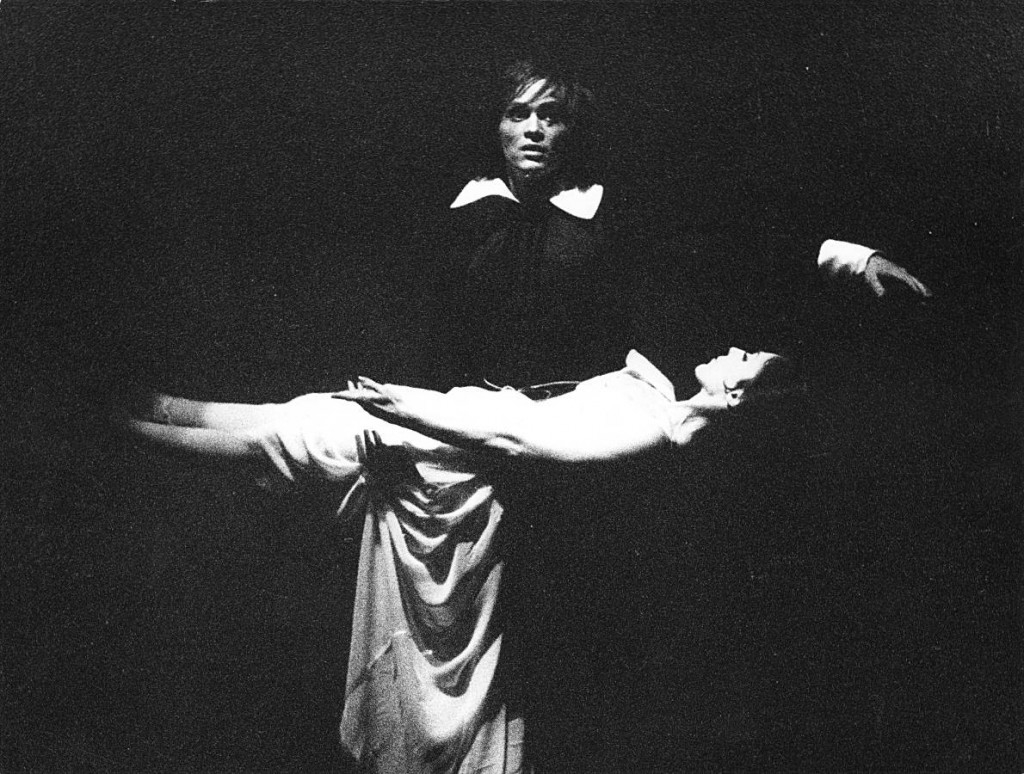 13. Fred Howald and Persephone Samaropoulo, Don Juan by J.Neumeier, Ballet Frankfurt, 1972, copyright Günther Englert, Frankfurt