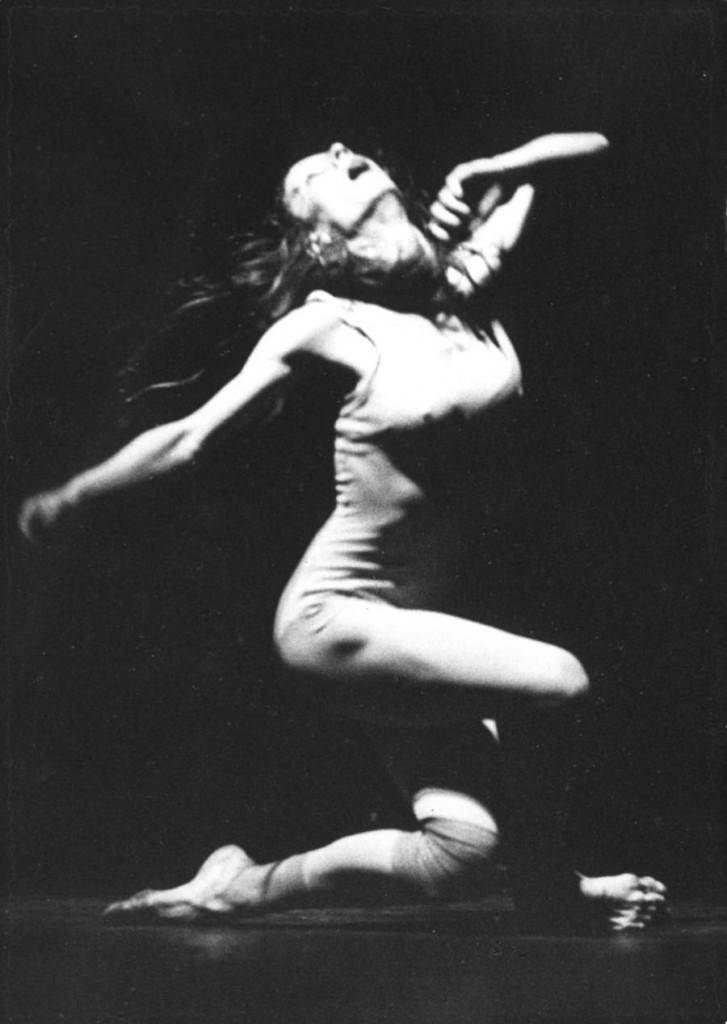 18. Beatrice Cordua, Le Sacre by J.Neumeier, Ballet Frankfurt, 1972, copyright Günther Englert, Frankfurt