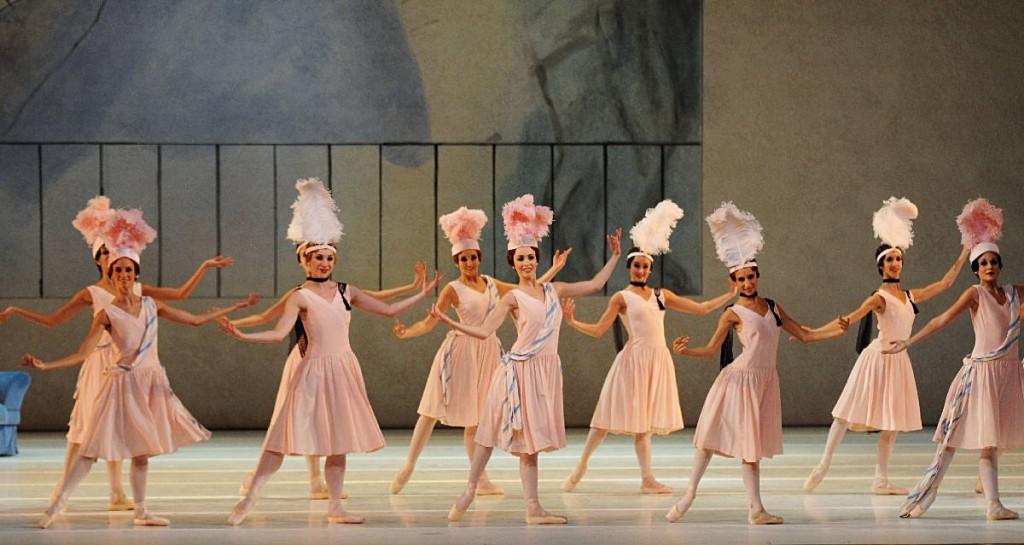 """2. Ensemble, """"Les Biches"""" by B.Nijinska, Bavarian State Ballet"""