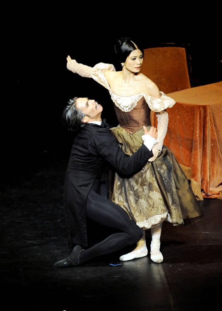 20. Jason Reilly and Sue Jin Kang, Onegin by J.Cranko, Stuttgart Ballet, photo Stuttgart Ballet