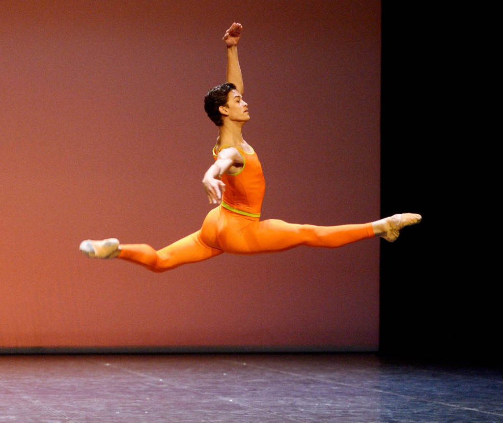 "3. Adhonay Soares da Silva, ""Simple Symphony"" by Alastair Marriott, Ballet Matinee of the John Cranko School, Stuttgart 2014"