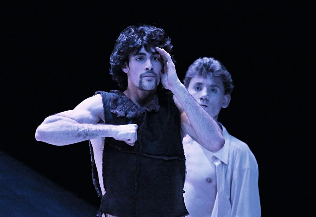 3. M.Jubete and K.Tselikov, Messiah by John Neumeier, Hamburg Ballet