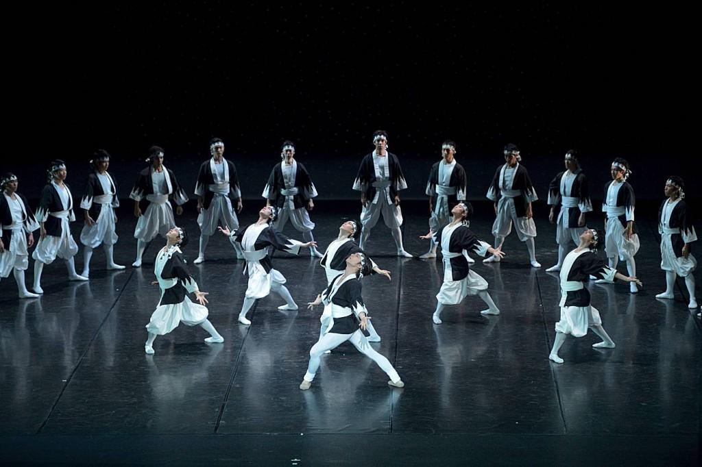3. Samurai (ensemble), The Kabuki by Maurice Béjart, Tokyo Ballet 2014