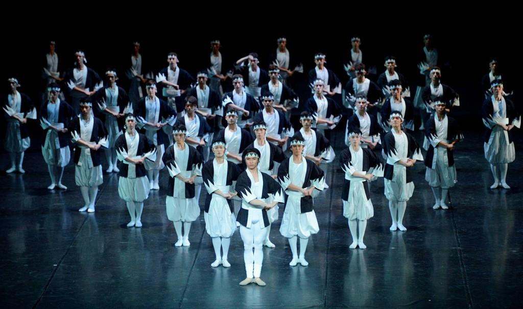 4. Samurai (ensemble), The Kabuki by Maurice Béjart, Tokyo Ballet 2014