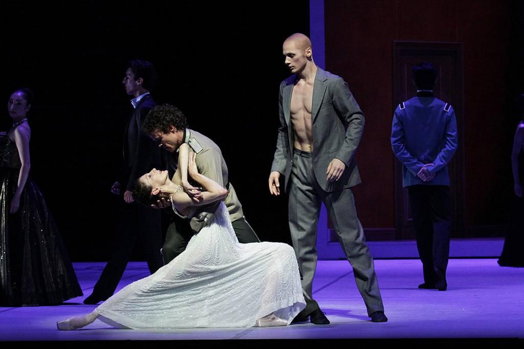 5. Hélène Bouchet, Carsten Jung and Edvin Revazov, Tatiana by J.Neumeier, Hamburg Ballet 2014