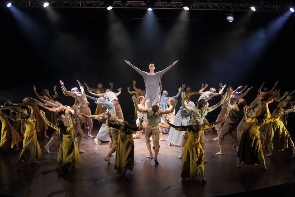 6. Graf, ensemble, Le Sacre du printemps by M.Wigman, Bavarian State Ballet