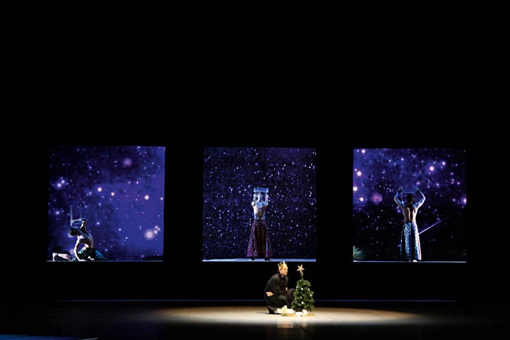 6. M.Jubete, S.Riva, T.Stuhrmann and L.Riggins, Christmas Oratorio by J.Neumeier, Hamburg Ballet