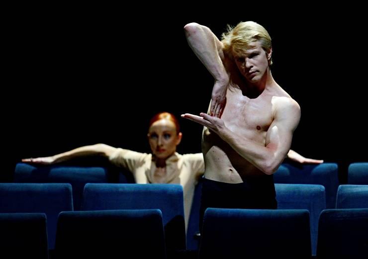 6. Magdalena Dziegielewska and Marijn Rademaker, On Velvet by Marco Goecke, Stuttgart Ballet