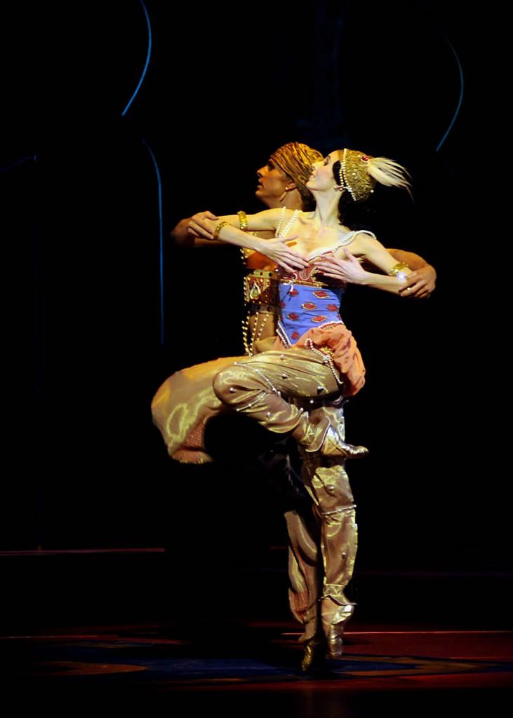"""6. D.Sukhorukova and L.Slavický, """"Schéhérazade"""" by M.Fokine, Bavarian State Ballet"""