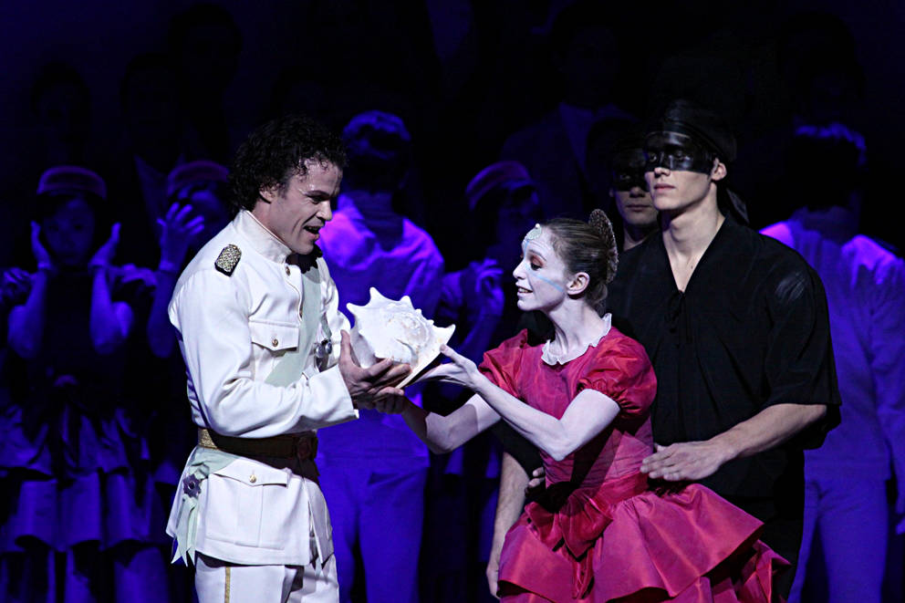 6. Carsten Jung, Silvia Azzoni and Florian Pohl, The Little Mermaid by J.Neumeier, Hamburg Ballet