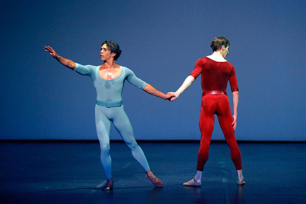 6. Reilly, McKie, Songs of a Wayfarer by Maurice Béjart, Stuttgart Ballet