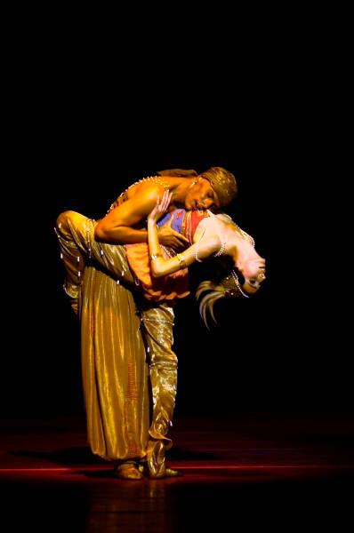 """7. D.Sukhorukova and L.Slavický, """"Schéhérazade"""" by M.Fokine, Bavarian State Ballet"""
