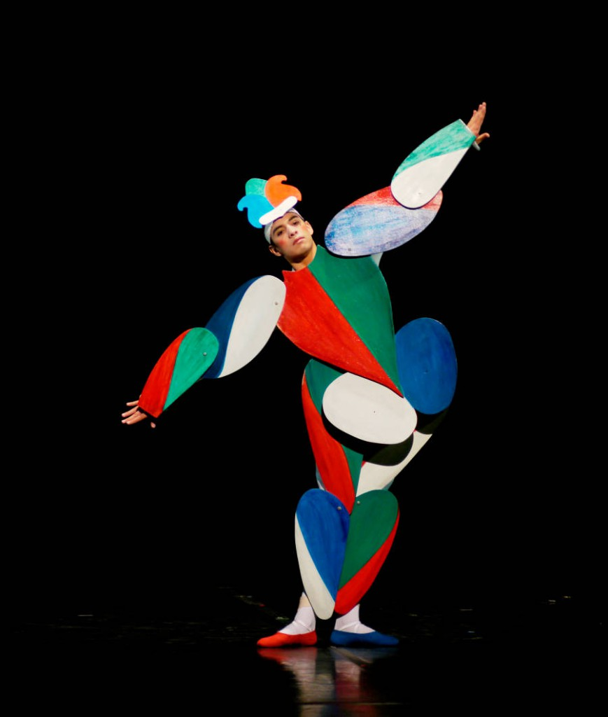 7. The Triadic Ballet by Gerhard Bohner, Jumping Jack, Nicholas Losada, copyright C.Tandy