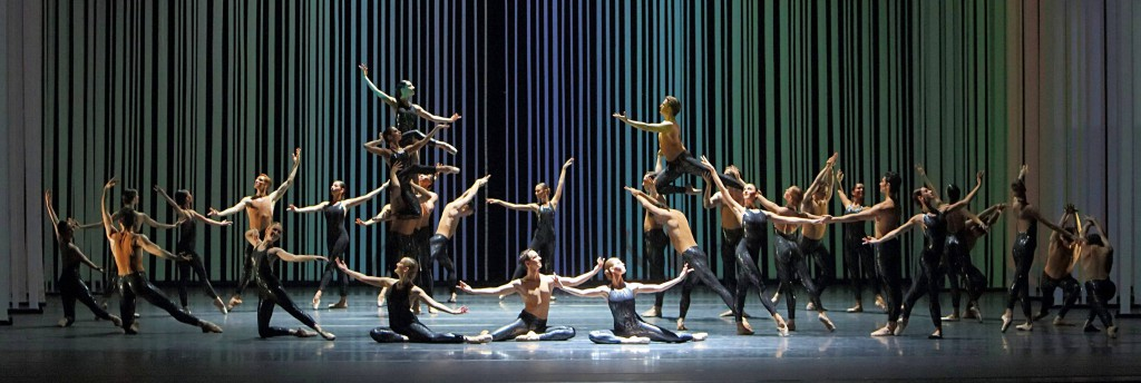 9. Ensemble, Choreartium by Léonide Massine, 4th movement, Forever Young, Bavarian State Ballet, Munich