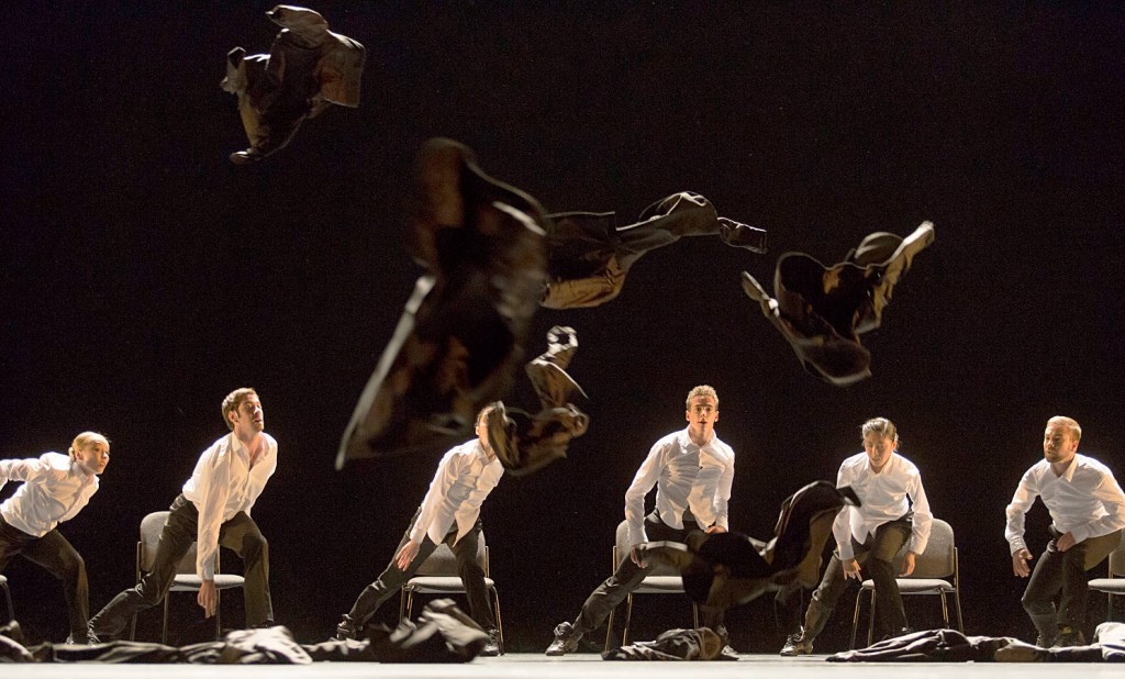 9. Ensemble, Minus 16 by Ohad Naharin, Semperoper Ballet