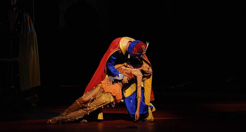 """9. D.Sukhorukova and C.Pierre, """"Schéhérazade"""" by M.Fokine, Bavarian State Ballet"""