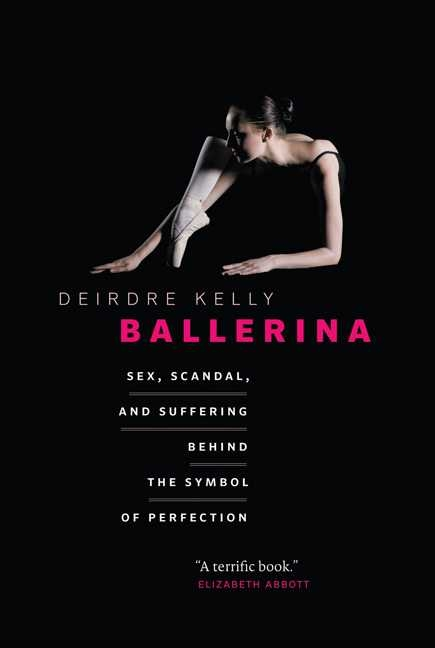 1. Deirdre Kelly, Ballerina, book cover
