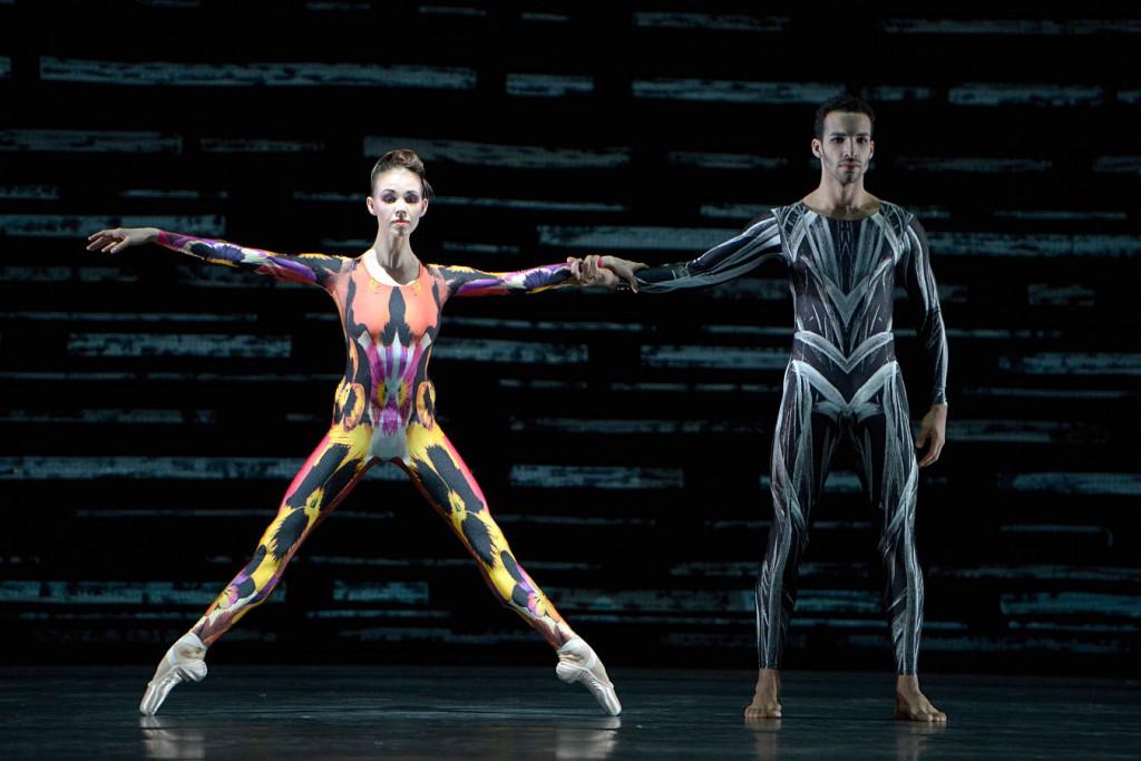 "11. V.Kapitonova and C.Alex Assis, ""Forellenquintett"" by M.Schläpfer, Ballet Zurich © B.Stöß 2014"
