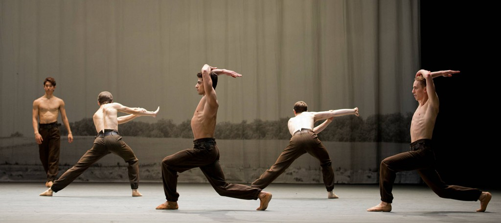 "12. S.Fukushi, A.Cozlac, T.Mkrtchyan, M.Knight and D.Mulligan, ""Anna Karenina"" by C.Spuck, Ballet Zurich © M.Rittershaus 2014"