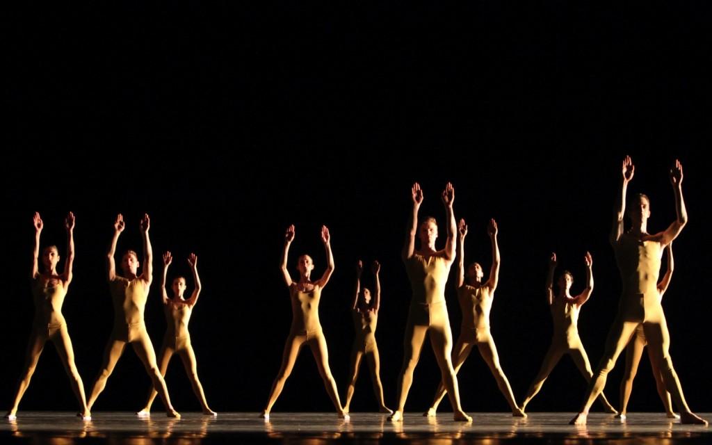 "2. Ensemble, ""Artifact II"" by W.Forsythe, Bavarian State Ballet, Munich © W.Hösl 2015"