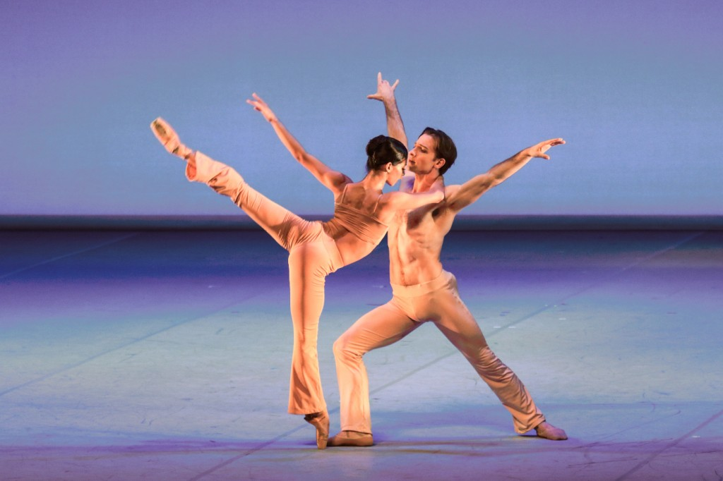 "1. J.Collado and A.Robinson, ""Clear"" by S.Welch, Houston Ballet © H.Badekow 2015"