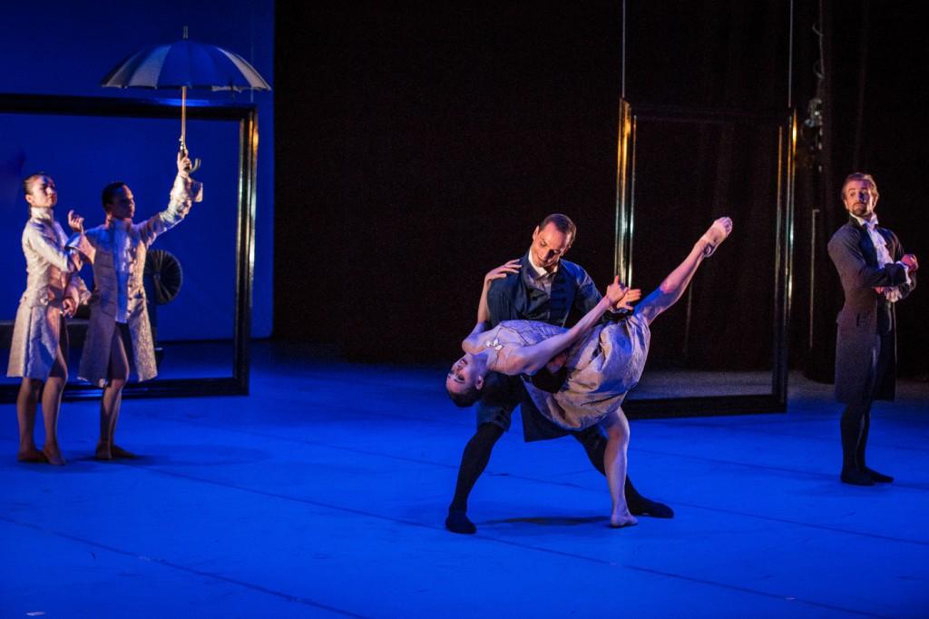 """2. D.Zhu, J.-A.Stupar, J.Bubeníček, S.Vinograd and J.Vallejo, """"L'Heure Bleue"""" by J.Bubeníček, Les Ballets Bubeníček 2015 © S.Ballone"""