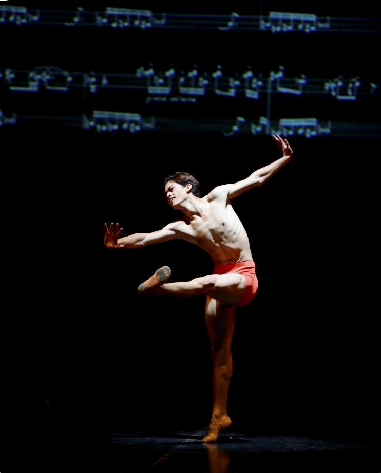 "4. A.S.da Silva, ""Notations I – IV"" by U.Scholz, John Cranko School 2015 © Stuttgart Ballet"