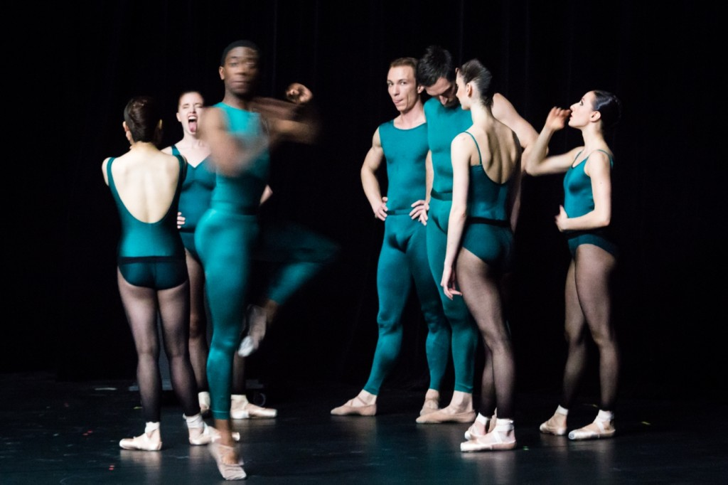 7. Ensemble, In the Middle, Somewhat Elevated by W.Forsythe, Semperoper Ballet, photo I.Whalen