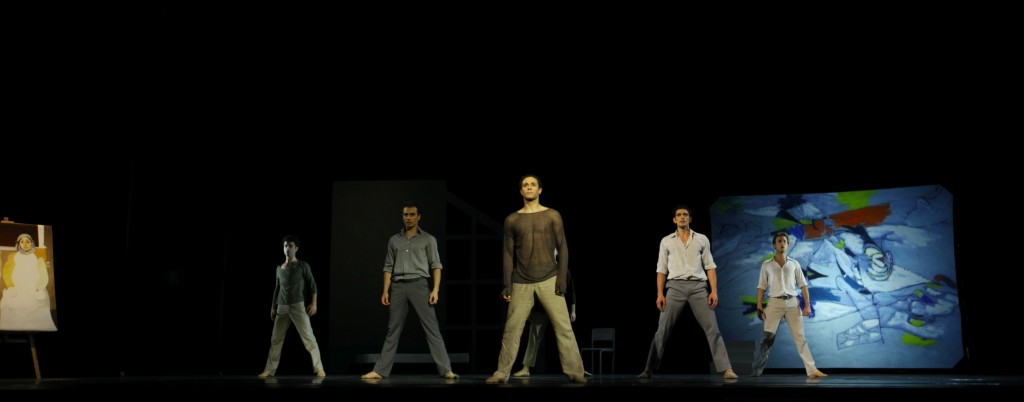 8. A.Mehrabyan and ensemble, Arshile Gorky by A.Mehrabyan, photo Y.Simon