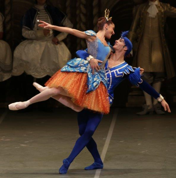 7. V.Valerio and A.Greco, The Sleeping Beauty by M.Petipa and A.Ratmansky, Teatro alla Scala, photo R.Amisano