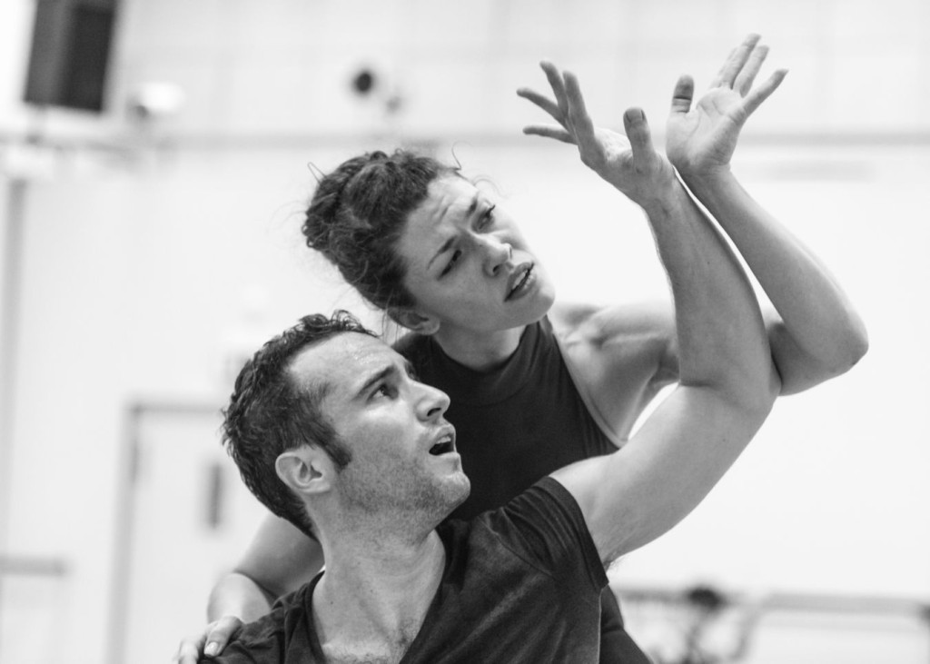 "12. F.Voranger and C.Richardson rehearsing David Dawson's ""Giselle"", photo: Ian Whalen"