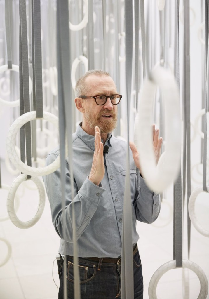 1. Portrait William Forsythe, 2015, MMK Frankfurt