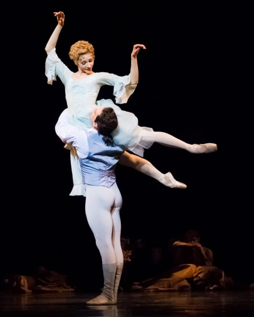 "3. M.Hamilton and J.Bubeniček, ""Manon"" by K.MacMillan, photo: Ian Whalen"