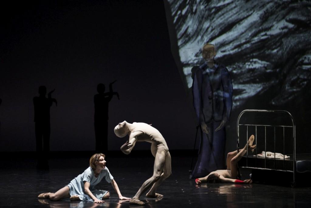 "7. K.Alexi, H.Mercier and R.Duclos, ""Charlotte Salomon: Death and the Painter"" by B.Breiner, photo: C.Radu"