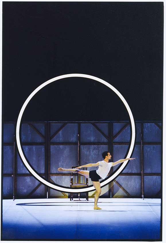"""6. Jiří Bubeníček, """"Nijinsky"""" by J.Neumeier, Hamburg Ballet © H.Badekow"""