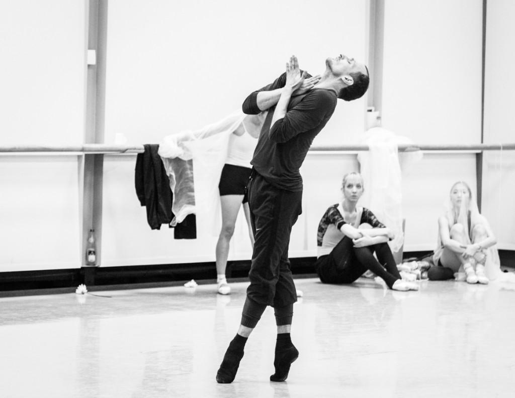 "18. Jiří Bubeníček, rehearsal of David Dawson's ""Giselle"", Semperoper Ballet © I.Whalen"