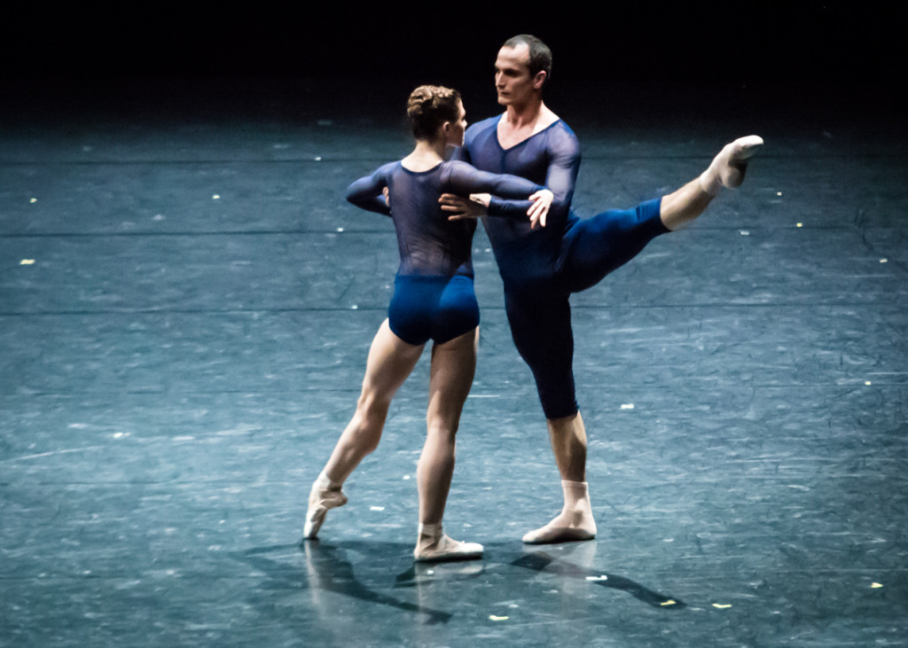 "13. J.Bubeníček and C.Richardson, ""New Suite"" by W.Forsythe, Semperoper Ballet © I.Whalen"