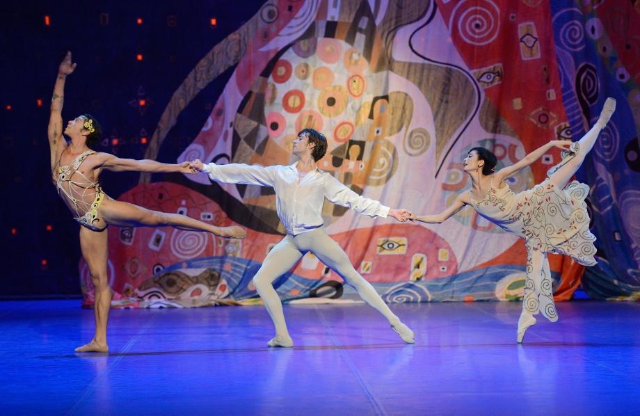 """5. J.Reilly, F.Vogel and S. J.Kang, """"Poème de l'Extase"""" by J.Cranko, Stuttgart Ballet 2015"""